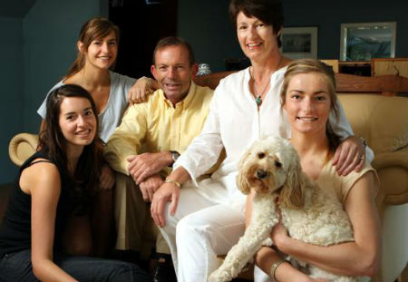Tony Abbott's dog Maisie