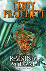 Terry Pratchett, Raising Steam cover