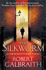 Robert Galbraith, The Silkworm cover